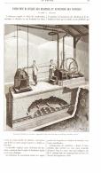 FONDATION ELASTIQUE DES MACHINES ET SUSPENSION DES VOITURES  1889 - Non Classés
