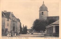 70 - HAUTE SAONE / Menoux - La Fontaine Et L'église - Beau Cliché Animé - France
