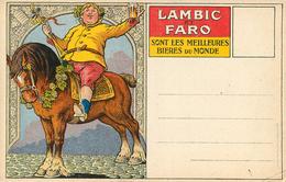 Publicité Pour Bierre Lambic Faro - Publicité