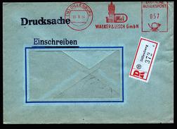 A4505) Bund R-Drucksache Von Dillenburg 30.9.54 Seltene Portostufe - BRD