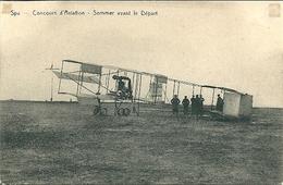 SPA - Concours D'Aviation - Sommer Avant Le Départ