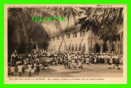 MISSIONS - LES FRANCISCAINES MISSIONNAIRES DE MARIE EN MISSION, MORATUWA, CEYLAN - ENFANTS EN RÉCRÉATIONS - - Missions