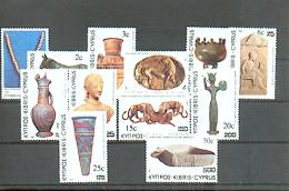 Zypern - MICHEN Nr. 587/598 Postfrisch / ** / Mnh  [EU4-cy14]