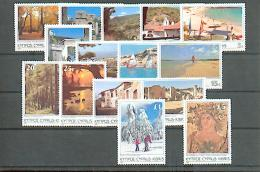 Zypern - MICHEN Nr. 626/640 Postfrisch / ** / Mnh  [EU4-cy15]