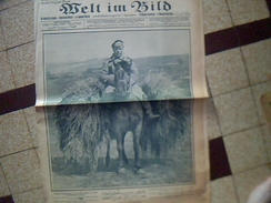 Militaria.1914/1919  Journal De Guerre Allemand WELT IM BILD 4 Aout 1915    Ecrit En Plusieurs Langues - Zeitungen & Zeitschriften