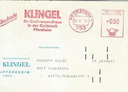 Germany - Pforzheim  1  1975  H-1026 - [7] West-Duitsland