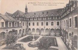 RENNES ( 35 ) école Des Beaux Arts - La Cour Du Pommier - Hôpital Militaire N°34 - Guerre De 1914 - Rennes