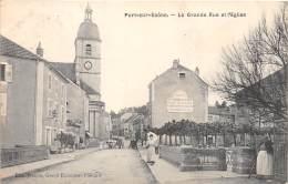 70 - HAUTE SAONE / Port Sur Saone - Grande Rue - Beau Cliché Animé - Francia