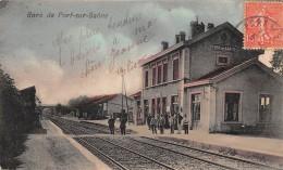 70 - HAUTE SAONE / Port Sur Saone - La Gare - Beau Cliché Colorisé - Francia
