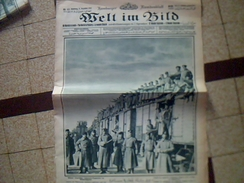 Militaria.1914/1919  Journal De Guerre Allemand WELT IM BILD 8 Decembre 1915    Ecrit En Plusieurs Langues - Deutsch