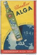Calendar KA000020 - Alga Susak 1941 - Small : 1941-60