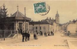 70 - HAUTE SAONE / Port Sur Saone - Pavillon Petit Et Passage Des Ponts - Beau Cliché Animé - France