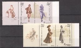 D133 2003 ROMANIA ART MODA XX 1SET MNH