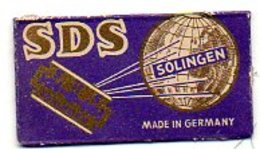 L048  Lame  SDS  Solingen - Rasierklingen