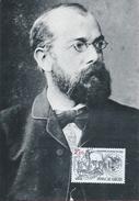 Robert Koch, Doctor And Bacteorologist. Tuberculosis.Triple Maximum Postcard.Arzt Bacteorologista.Tuberculose
