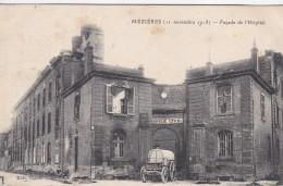 23V - 08 - Mézières - Ardennes - 11 Novembre 1918 - Façade De L'Hôpital Bombardé - N° 73