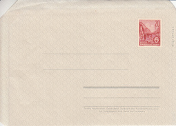 F1a Blanko Umschlag Mit 20 Pf. Berlin Stalinallee - [6] Repubblica Democratica