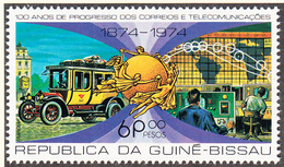 GUINEE BISSAU  - 1977 - UPU / Poste -   Yvert  53 -  Neufs **