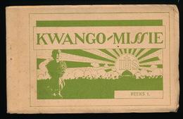 KWANGO MISSIE = BOEKJE MET 12 POSTKAARTEN - ZIE ALLE KAARTEN AFGEBEELD SERIE 1 - Belgisch-Kongo - Sonstige