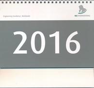 Kalender 2016 RLE International GmbH Köln - Calendars