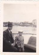 26100   Photo Bretagne France - En Bac Sur L'Odet  29 - En 1937 -Rennes 35