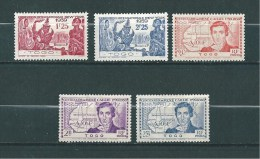Colonie Timbres  Du Togo De 1939  N°172 A 176  Neufs * - Togo (1914-1960)