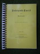 Buch Fahrposttarif Für Das Ausland 1874 Kopie Spiralbindung - Tarifa De Correos