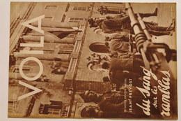 Revues VOILA N°186 Du 13 Octobre 1934 - Livres, BD, Revues