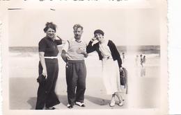 26105 Cinq 5  Photo Erquy (22 France ) -la Plage En 1936 Ou 1937 -Rennes 35 ! état ! - Lieux