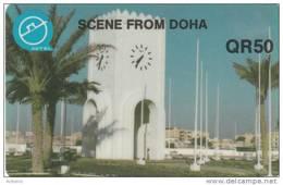 QATAR - Scene From Doha, Used