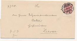 MAGDEBURG - 1891 , Brief Nach Ziesar , Königliches Consistorium Der Provinz Sachsen