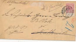 COSEL - 1893 , Brief Nach Kattowitz