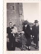 26106  Trois 3 Photo Bretagne France - Chateau De Montmuran  Iff Bretagne- En 1937 -Rennes 35 - Lieux