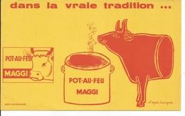 Buvard Pot-au-Feu Maggi. - Alimentaire