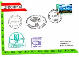 CP De Feldkirchen Bei Graz Pour Wien (08.05.1992)_Namibia_luftschiffpost