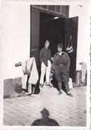 26107  Cinq 5 Photo Algerie Blida Route Chrea -1936 1937 -Rennes 35 -militaire Chechia - Lieux