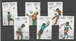 Football - Coupe Du Monde - Italie 1990 - Joueurs Et Maillots - Coupe Du Monde