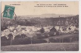 Saint Pierre Du Regard Pont Erambourg Vue Générale Sur Le Bourg Et Les Collines De Méré - Flers