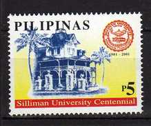 Philippines 2001 The 100th Anniversary Of Silliman University, Dumaguete City.MNH - Filippine
