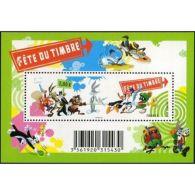 France Feuillet N°4341 Fête Du Timbre. Looney Tunes - Blocs & Feuillets
