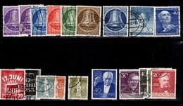 Berlin Belle Petite Collection D'oblitérés 1949/1953. Bonnes Valeurs. B/TB. A Saisir!