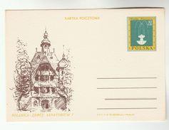 1970 POLAND Postal STATIONERY Illus SANATORIUM POLANICA ZDROJ Card Cover Stamps Health Medicine
