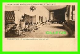 MISSIONS - LES FRANCISCAINES MISSIONNAIRES DE MARIE EN MISSION, MEKNÈS, MAROC - LES PETITES BERBÈRES QUI FONT DES TAPIS - Missions