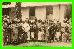 MISSIONS - LES FRANCISCAINES MISSIONNAIRES DE MARIE EN MISSION, LÉOPOLDVILLE - DISTRIBUTION DES MATABICHES - ÉCRITE 1926 - Missions