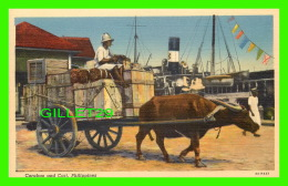 PHILIPPINES - CARABAO AND CART -  CURTEICH-CHICAGO - - Philippines