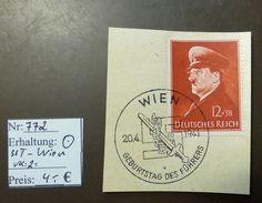 Deutsches Reich   Michel Nr: 772   Sonderstempel Wien  #4785 - Allemagne