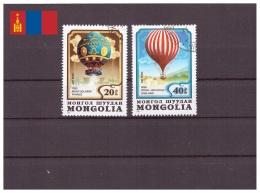 Mongolie 1982 - Oblitéré - Montgolfières - Michel Nr. 1522 1524 (mgl156)