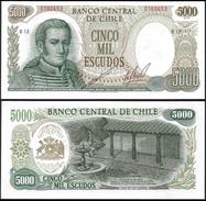 Chile 5000 ESCUDOS P 147b UNC CHILI - Chili