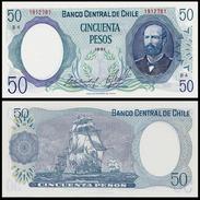 Chile 50 PESOS 1981 P 151b UNC CHILI - Chili