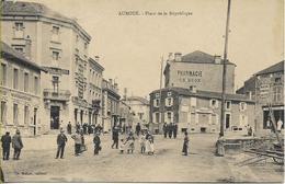 AUBOUE  Place De La République - Altri Comuni